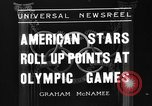 Image of United States athletes in 1936 Olympics Berlin Germany, 1936, second 2 stock footage video 65675046091