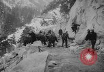 Image of Going-to-the-Sun road Montana USA, 1927, second 1 stock footage video 65675046095