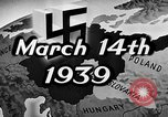 Image of Adolf Hitler Europe, 1939, second 3 stock footage video 65675046109