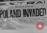Image of German invasion of Poland Poland, 1939, second 7 stock footage video 65675046110