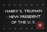 Image of Harry Truman United States USA, 1945, second 2 stock footage video 65675046119