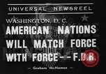 Image of President Franklin Roosevelt Washington DC USA, 1939, second 6 stock footage video 65675046120