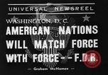 Image of President Franklin Roosevelt Washington DC USA, 1939, second 9 stock footage video 65675046120