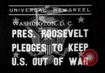 Image of President Franklin Roosevelt Washington DC USA, 1939, second 1 stock footage video 65675046129