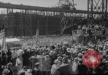 Image of SS America launched Newport News Virginia USA, 1939, second 9 stock footage video 65675046130