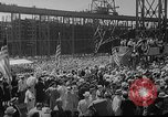 Image of SS America launched Newport News Virginia USA, 1939, second 10 stock footage video 65675046130