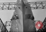 Image of SS America launched Newport News Virginia USA, 1939, second 12 stock footage video 65675046130