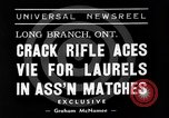 Image of rifle shooting Long Branch Ontario Canada, 1939, second 1 stock footage video 65675046131