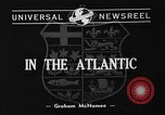 Image of Canadian convoy Atlantic Ocean, 1940, second 2 stock footage video 65675046136