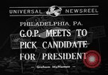 Image of Republican National Convention Philadelphia Pennsylvania USA, 1940, second 1 stock footage video 65675046139