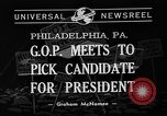 Image of Republican National Convention Philadelphia Pennsylvania USA, 1940, second 5 stock footage video 65675046139