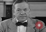 Image of Charles McNary Washington DC USA, 1940, second 5 stock footage video 65675046143