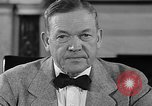 Image of Charles McNary Washington DC USA, 1940, second 6 stock footage video 65675046143