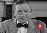 Image of Charles McNary Washington DC USA, 1940, second 7 stock footage video 65675046143