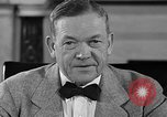 Image of Charles McNary Washington DC USA, 1940, second 8 stock footage video 65675046143