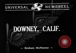 Image of Vultee aircraft factory Downey California USA, 1940, second 2 stock footage video 65675046145