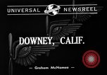 Image of Vultee aircraft factory Downey California USA, 1940, second 4 stock footage video 65675046145