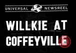 Image of Wendell Willkie Coffeyville Kansas USA, 1940, second 3 stock footage video 65675046159