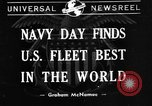 Image of United States fleet United States USA, 1940, second 1 stock footage video 65675046166