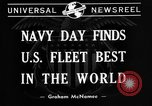 Image of United States fleet United States USA, 1940, second 7 stock footage video 65675046166