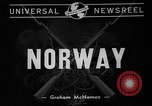 Image of World War II Norway, 1940, second 9 stock footage video 65675046167