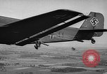 Image of German bombers over France Western Europe, 1940, second 11 stock footage video 65675046168