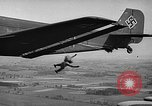 Image of German bombers over France Western Europe, 1940, second 12 stock footage video 65675046168
