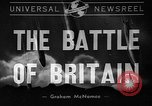 Image of Battle of Britain United Kingdom, 1940, second 1 stock footage video 65675046169