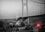 Image of Tacoma Narrows Bridge Washington State United States USA, 1940, second 11 stock footage video 65675046173