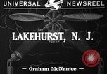 Image of paratroopers Lakehurst New Jersey USA, 1941, second 2 stock footage video 65675046181