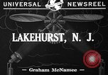 Image of paratroopers Lakehurst New Jersey USA, 1941, second 3 stock footage video 65675046181