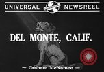 Image of Airedale Del Monte California USA, 1941, second 3 stock footage video 65675046182