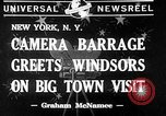 Image of Windsors New York United States USA, 1941, second 1 stock footage video 65675046189