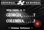 Image of football match New York United States USA, 1941, second 7 stock footage video 65675046190