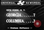 Image of football match New York United States USA, 1941, second 8 stock footage video 65675046190