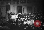 Image of President Roosevelt declares war Washington DC USA, 1941, second 12 stock footage video 65675046195