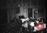 Image of U.S. Congress declaration of war against Japan Washington DC USA, 1941, second 1 stock footage video 65675046196