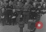 Image of Prime Minister Winston Churchill Argentia Newfoundland Canada, 1941, second 5 stock footage video 65675046199