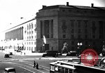 Image of Department of Justice Building Washington DC USA, 1935, second 1 stock footage video 65675046203