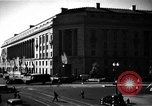 Image of Department of Justice Building Washington DC USA, 1935, second 4 stock footage video 65675046203
