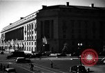 Image of Department of Justice Building Washington DC USA, 1935, second 5 stock footage video 65675046203