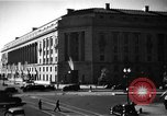 Image of Department of Justice Building Washington DC USA, 1935, second 9 stock footage video 65675046203
