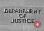 Image of Department of Justice Washington DC USA, 1950, second 7 stock footage video 65675046206