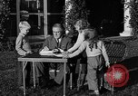 Image of President Franklin D. Roosevelt Hyde Park New York USA, 1936, second 2 stock footage video 65675046210