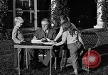 Image of President Franklin D. Roosevelt Hyde Park New York USA, 1936, second 6 stock footage video 65675046210