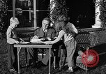Image of President Franklin D. Roosevelt Hyde Park New York USA, 1936, second 10 stock footage video 65675046210