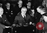 Image of President Franklin Roosevelt Washington DC USA, 1940, second 12 stock footage video 65675046217