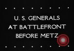 Image of United States 3rd Army Metz France, 1944, second 3 stock footage video 65675046227