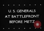 Image of United States 3rd Army Metz France, 1944, second 4 stock footage video 65675046227