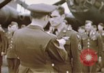 Image of Memphis Belle crew decorated European Theater, 1943, second 7 stock footage video 65675046293